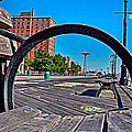 Coney Island Bench View by Alice Gipson