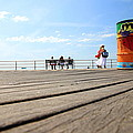 Coney Island Boardwalk by Valentino Visentini