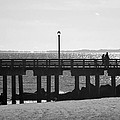 Coney Island Coast In Black And White by Rob Hans