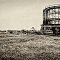 Coney Island Roller Coaster by Robert Ullmann