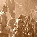 Confederate Breastworks Carnifex Ferry by Thomas R Fletcher