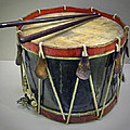Confederate Drum by Dave Mills
