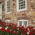 Conference House In Tottenville by Nancy De Flon