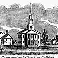 Connecticut: Church, 1836 by Granger