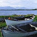 Connemara, Co Galway, Ireland Boats by The Irish Image Collection
