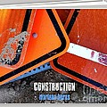 Construction  Abstract Photography Book by Marlene Burns