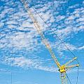 Construction Crane by Tom Gowanlock