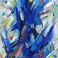 Contemporary Painting Six by Lynne Taetzsch