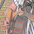Contorno Guitarist 1 by C H Apperson
