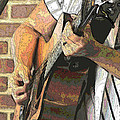 Contorno Guitarist 2 by C H Apperson