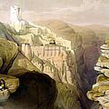 Convent Of St Saba by Munir Alawi
