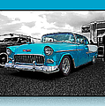 Cool Blue Chevy by Randy Harris