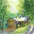 Cool Colorado Cabin by Debbie Lewis