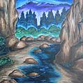 Cool Mountain Water by Cheryl Pettigrew