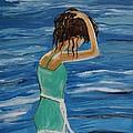 Cool Ocean Breeze by Leslie Allen