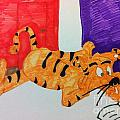 Cool Tiger Love To Read by Charita Padilla