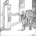Coolidge Cartoon, 1925 by Granger