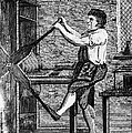 Copper Plate Printer, 1807 by Granger