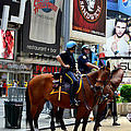 Cops In Manhattan by Pravine Chester