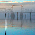Coquille River Bridge Sunrise by Tony and Kristi Middleton