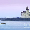 Coquille River Lighthouse by Betty LaRue