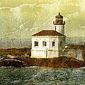 Coquille River Lighthouse by Jill Battaglia