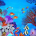 Coral Garden by Fram Cama