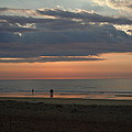 Coral Haze Sunrise by Nancy Griswold