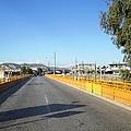 Corinth Canal Highway Bridge Crossing In Greece by John Shiron
