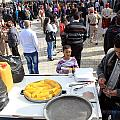 Corn Of The Cob Salesman by Munir Alawi