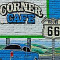 Corner Cafe by Heather Hollingsworth