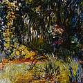 Corner Of A Pond With Waterlilies by Claude Monet