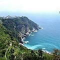 Corniglia Cinque Terre And Vineyards by Marilyn Dunlap