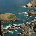 Cornish Seascape St Agnes  by Brian Roscorla