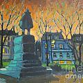 Cornwallace Statue by John Malone