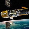 Corot Satellite, Artwork by David Ducros