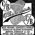 Corset Advertisement, 1888 by Granger