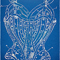 Corset Patent Series 1905 French by Nikki Marie Smith
