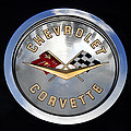 Corvette Name Plate by David Lee Thompson
