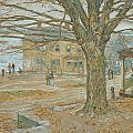 Cos Cob In November by Childe Hassam