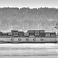 Cosco Cargo Ship by Tap On Photo