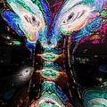 Cosmic Smurf by Paula Ayers