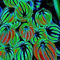 Cosmic Watermelon Leaves by Ben Upham III