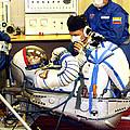 Cosmonaut Training, Soyuz Tma-8 Crew by Ria Novosti