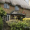 Cotswold Thatched Cottage by Andrew  Michael