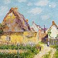 Cottage At Le Vaudreuil by Gustave Loiseau
