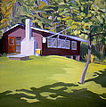 Cottage In Ludow Vermont by Nancy Griswold