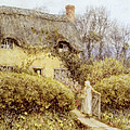 Cottage Near Freshwater  by Helen Allingham