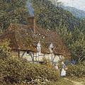 Cottage Near Witley Surrey by Helen Allingham