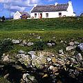 Cottage On Achill Island, County Mayo by The Irish Image Collection